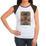African Mysticism Women's Cap Sleeve T-Shirt