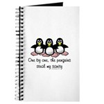 One by one, the penguins. Journal