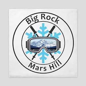 Big Rock - Mars Hill - Maine Queen Duvet