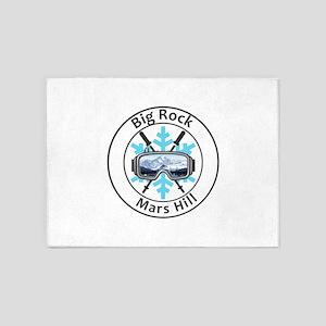 Big Rock - Mars Hill - Maine 5'x7'Area Rug