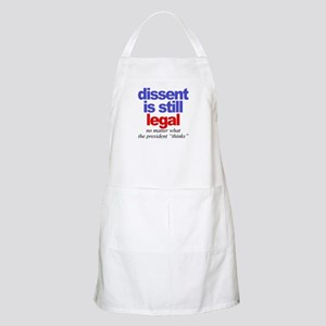 Dissent is still legal BBQ Apron