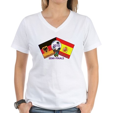 Germany vs. Spain 2010 Soccer T-Shirt