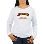 Auditing / Numbers Women's Long Sleeve T-Shirt
