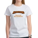 Auditing / Numbers Women's T-Shirt