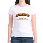 Auditing / Numbers Jr. Ringer T-Shirt