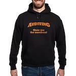 Auditing / Numbers Hoodie (dark)