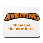 Auditing / Numbers Mousepad