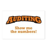 Auditing / Numbers Postcards (Package of 8)