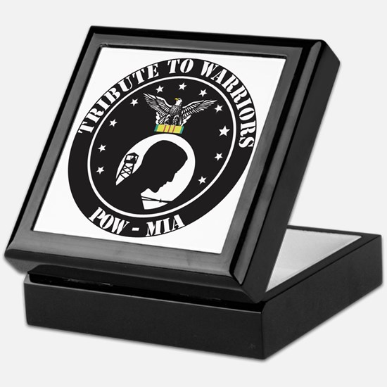 TRIBUTE TO POW - MIA Keepsake Box