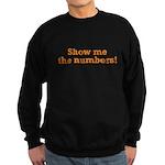 Show me the numbers! Sweatshirt (dark)
