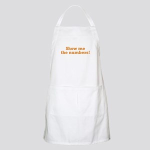 Show me the numbers! Apron