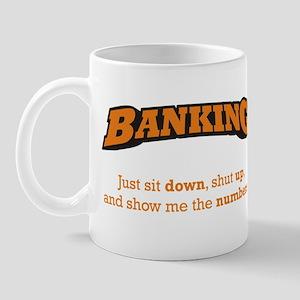 Banking-Numbers Mug