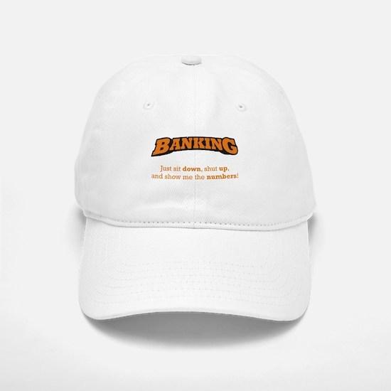 Banking-Numbers Baseball Baseball Cap