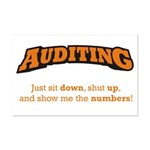 Auditing-Numbers Mini Poster Print