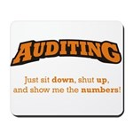 Auditing-Numbers Mousepad