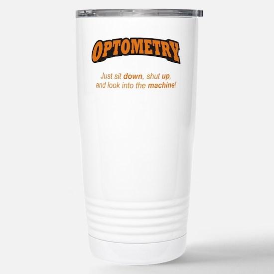 Optometry / Machine Stainless Steel Travel Mug