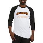 Optometry / Machine Baseball Jersey