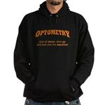 Optometry / Machine Hoodie (dark)