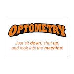 Optometry / Machine Mini Poster Print