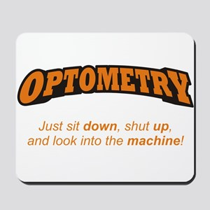Optometry / Machine Mousepad