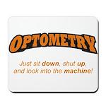 Optometry / Machine Mousepad