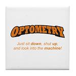 Optometry / Machine Tile Coaster