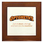 Optometry / Machine Framed Tile
