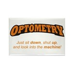 Optometry / Machine Rectangle Magnet (10 pack)