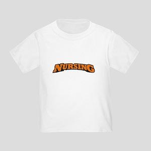 Nursing (Orange) Toddler T-Shirt