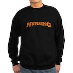 Nursing (Orange) Sweatshirt (dark)