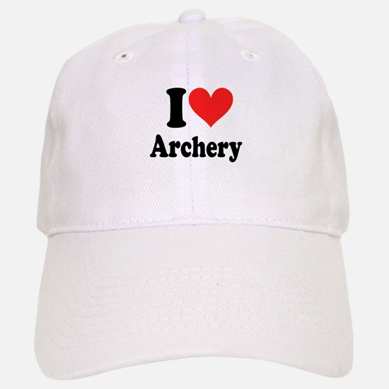 I Heart Archery: Baseball Baseball Cap