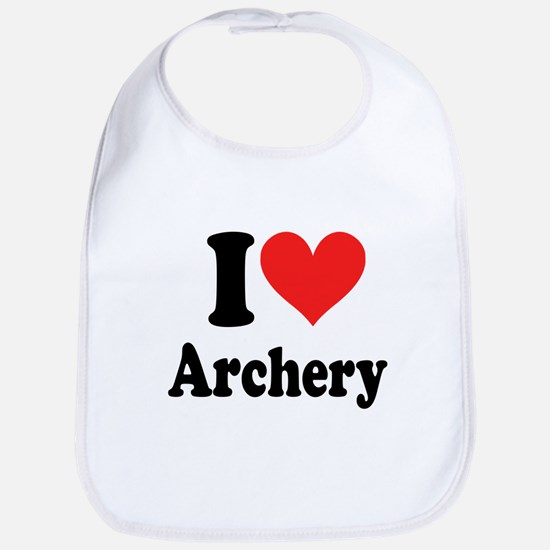 I Heart Archery: Bib