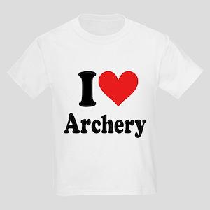 I Heart Archery: Kids Light T-Shirt
