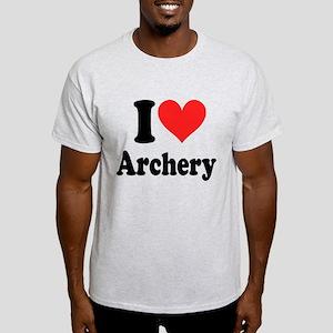 I Heart Archery: Light T-Shirt