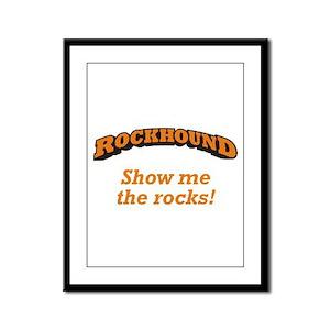Rockhound / Rocks Framed Panel Print