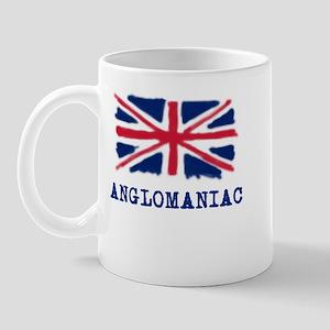 Anglomaniac with Union Jack Mug