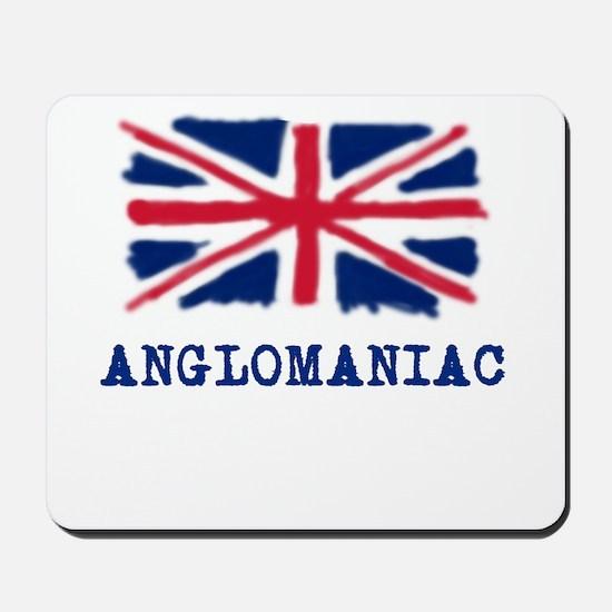 Anglomaniac with Union Jack Mousepad