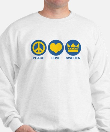 Peace Love Sweden Sweatshirt