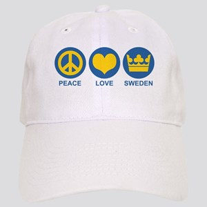 Peace Love Sweden Cap