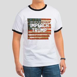 Impeach Trump T-Shirt - Star Spangled Banner T-Shi
