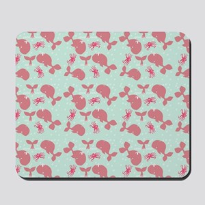 Happy Whales Mousepad