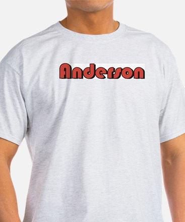 Anderson, Indiana Ash Grey T-Shirt
