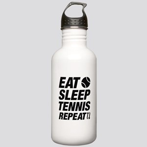 Eat Sleep Tennis Repea Stainless Water Bottle 1.0L