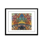 Africa.3 Land of Beauty Framed Panel Print