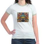 Africa.3 Land of Beauty Jr. Ringer T-Shirt