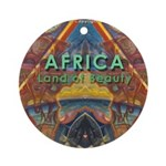 Africa.3 Land of Beauty Ornament (Round)