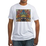 Africa.3 Land of Beauty Fitted T-Shirt