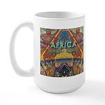 Africa.3 Land of Beauty Large Mug