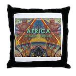 Africa.3 Land of Beauty Throw Pillow