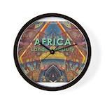 Africa.3 Land of Beauty Wall Clock